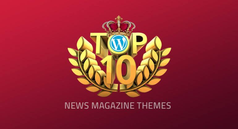 Top 10 News & Magazin WordPress themes 2020