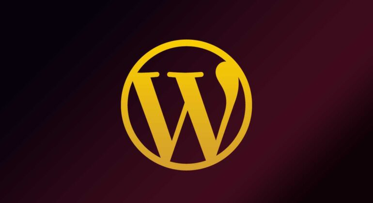 wordpress logo colorful
