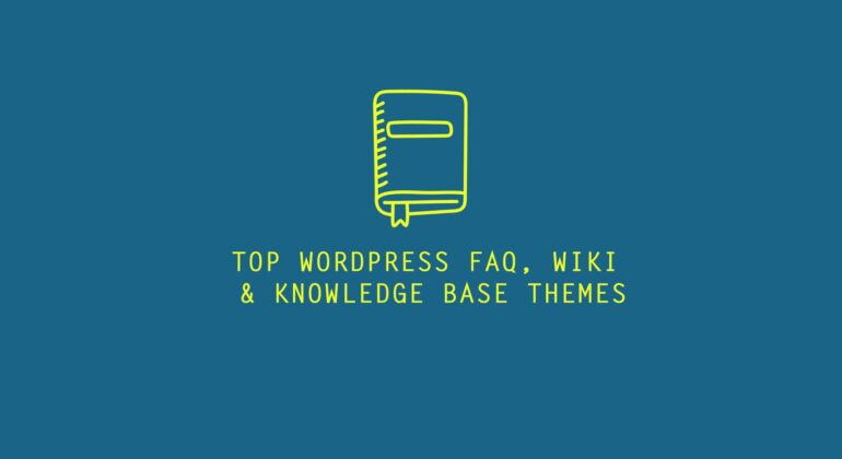 faq wiki knowledge base wordpress themes 1