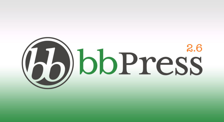 bbpress 2 6 released