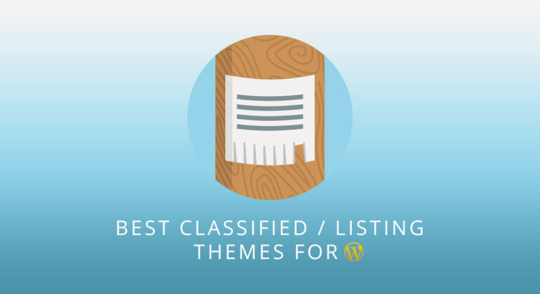 best classified listing wordpress themes 1
