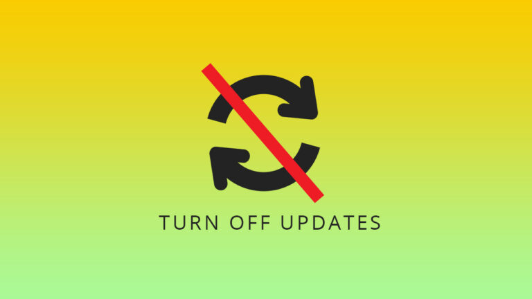 Disable or turn off automatic updates in WordPress