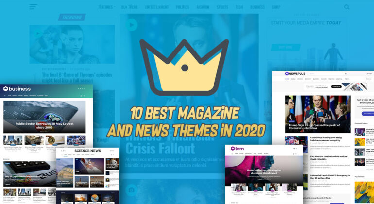10 best WordPress Magazine and news themes in 2020