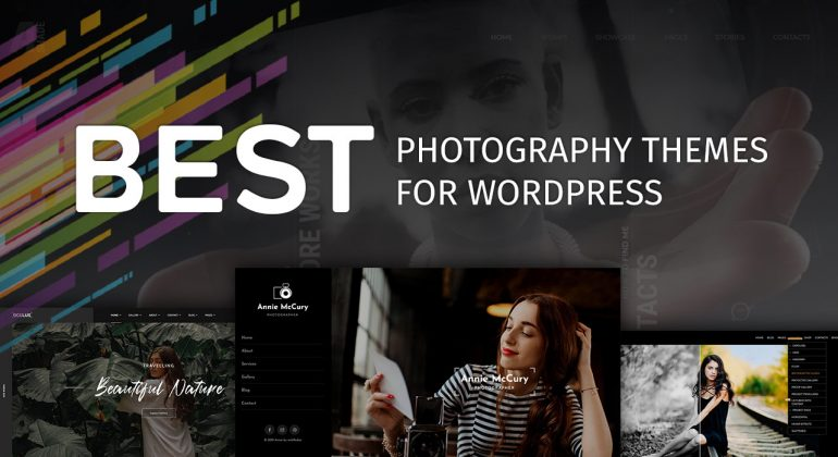 10 Best Photography WordPress Themes