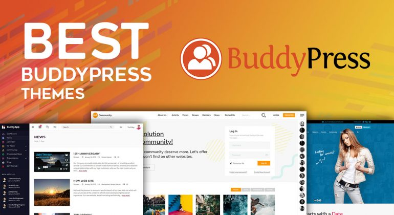 Best BuddyPress WordPress Themes