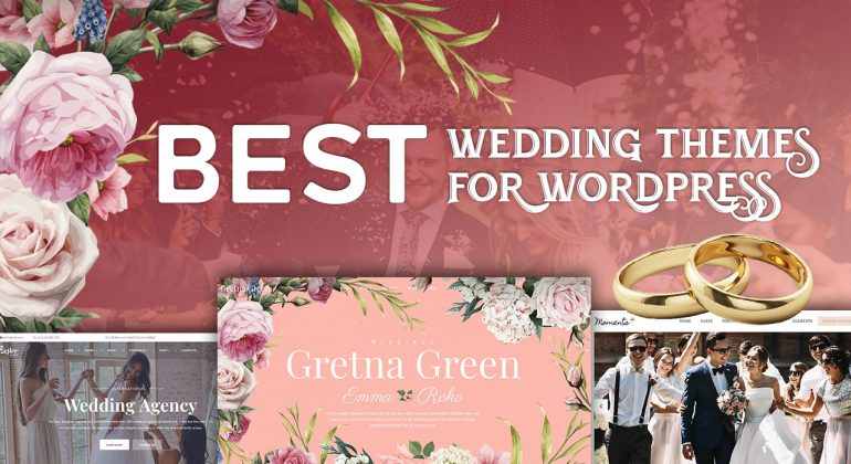 10 Best Wedding themes for WordPress