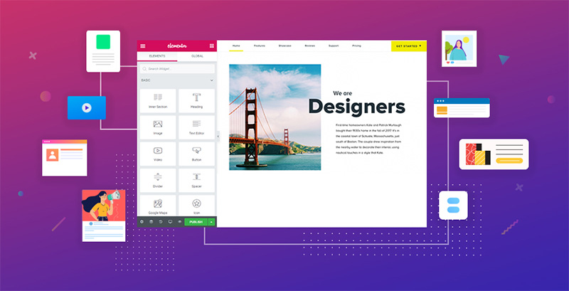 The Elementor Page Builder