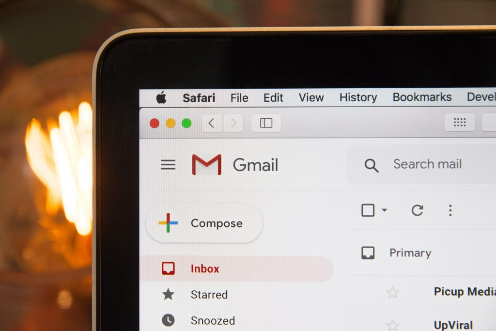 Gmail - receiving newsletter