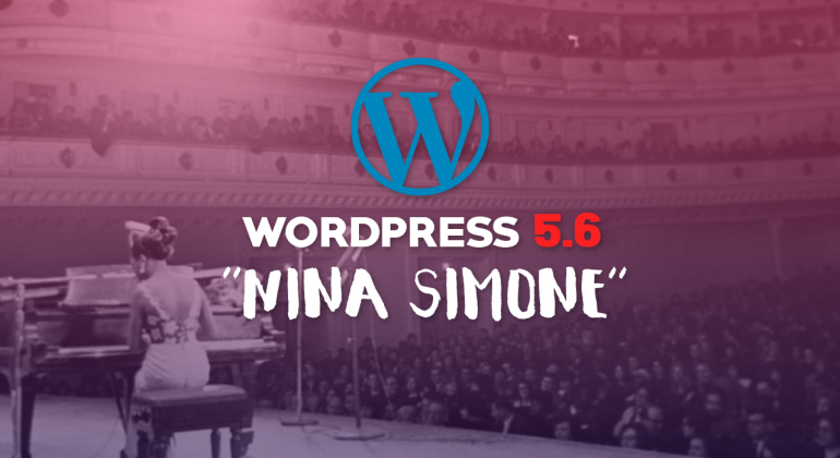 WordPress 5.6 - Nina Simone