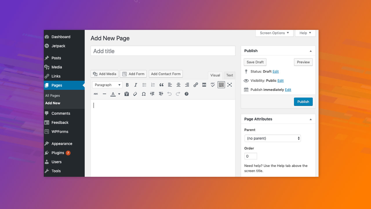 WordPress extends support for Classic Editor